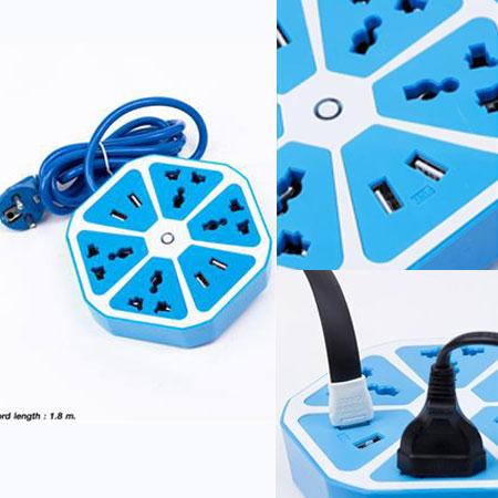 Ổ điện 4 USB đa năng Melon-Haxegon thái lan
