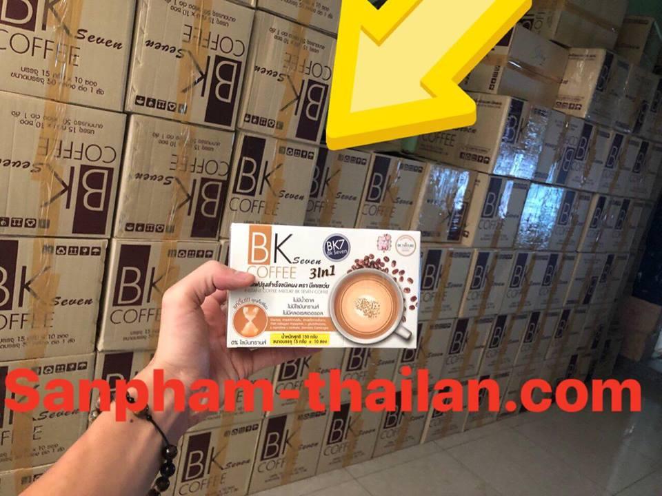 BK Seven Coffee Thái Lan