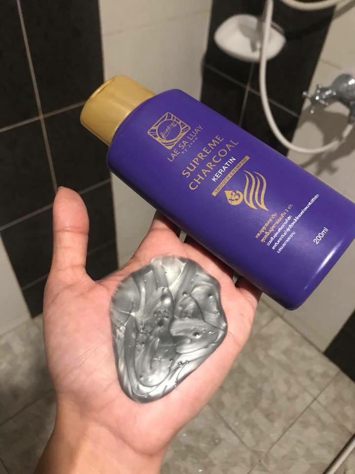 Bộ Gội Ủ tóc COLLAGEN Lae Sa Luay thái lan