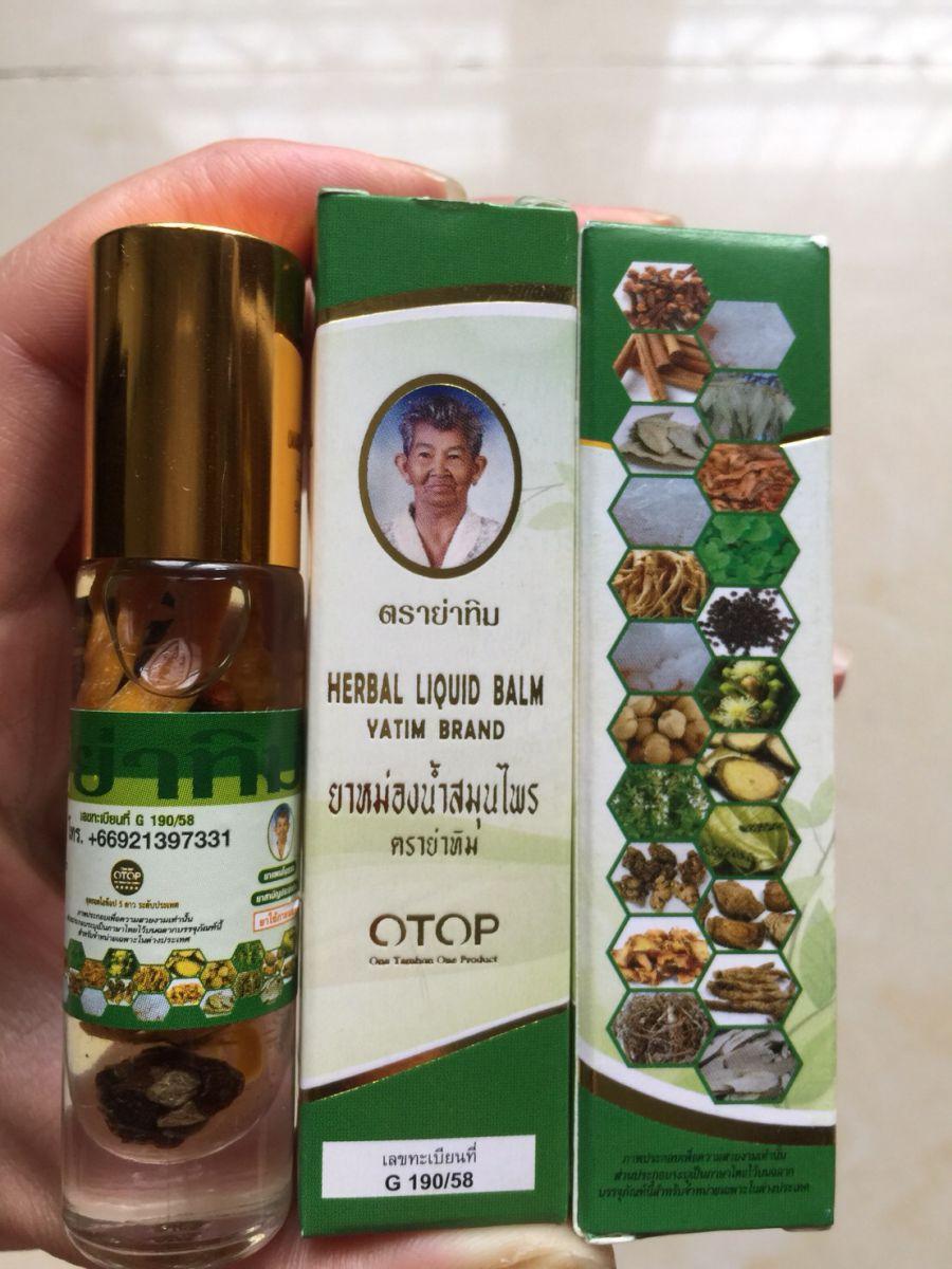 Dầu 22Thảo Dược Thái Lan HERBAL LIQUID BALM YATIMT
