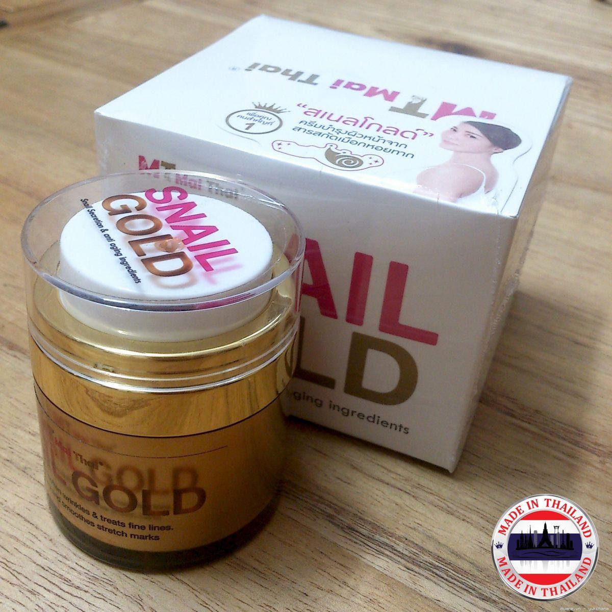 Serum ốc sên Snail Gold Mai Thái Lan