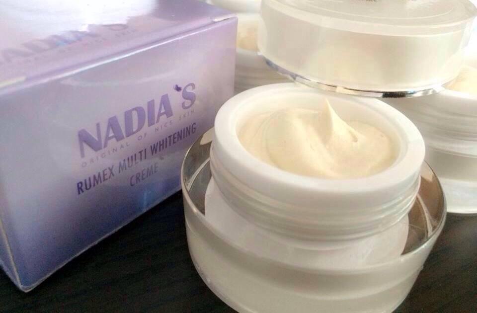 Kem dưỡng trắng da Nadia's Rumex Multi Whitening Creme