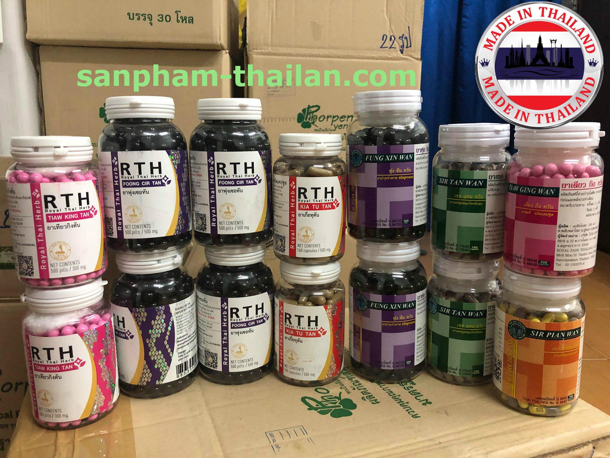 Thuốc Ở Trại Rắn Hoàng Gia Thái Lan - ROYAL THAI HERB